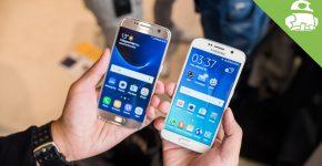 Samsung S7 versus Samsung S6